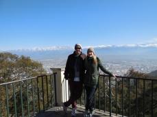 On Top: Blick über Salta, Argentinien