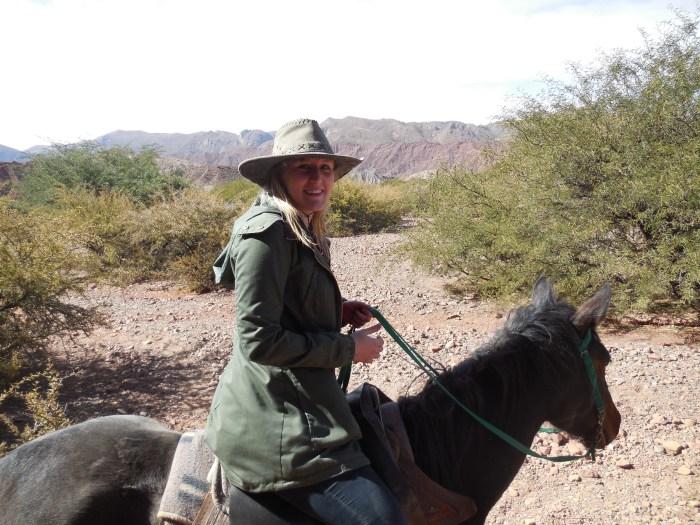 Ausritt in Südbolivien