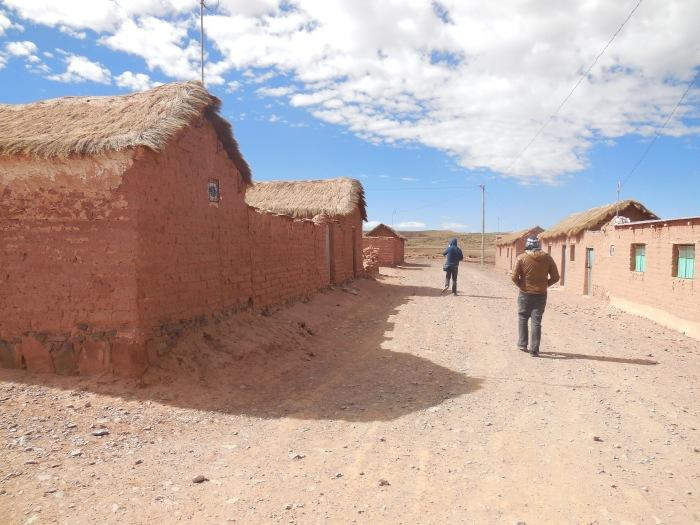 Dorf Anden Bolivien Uyuini