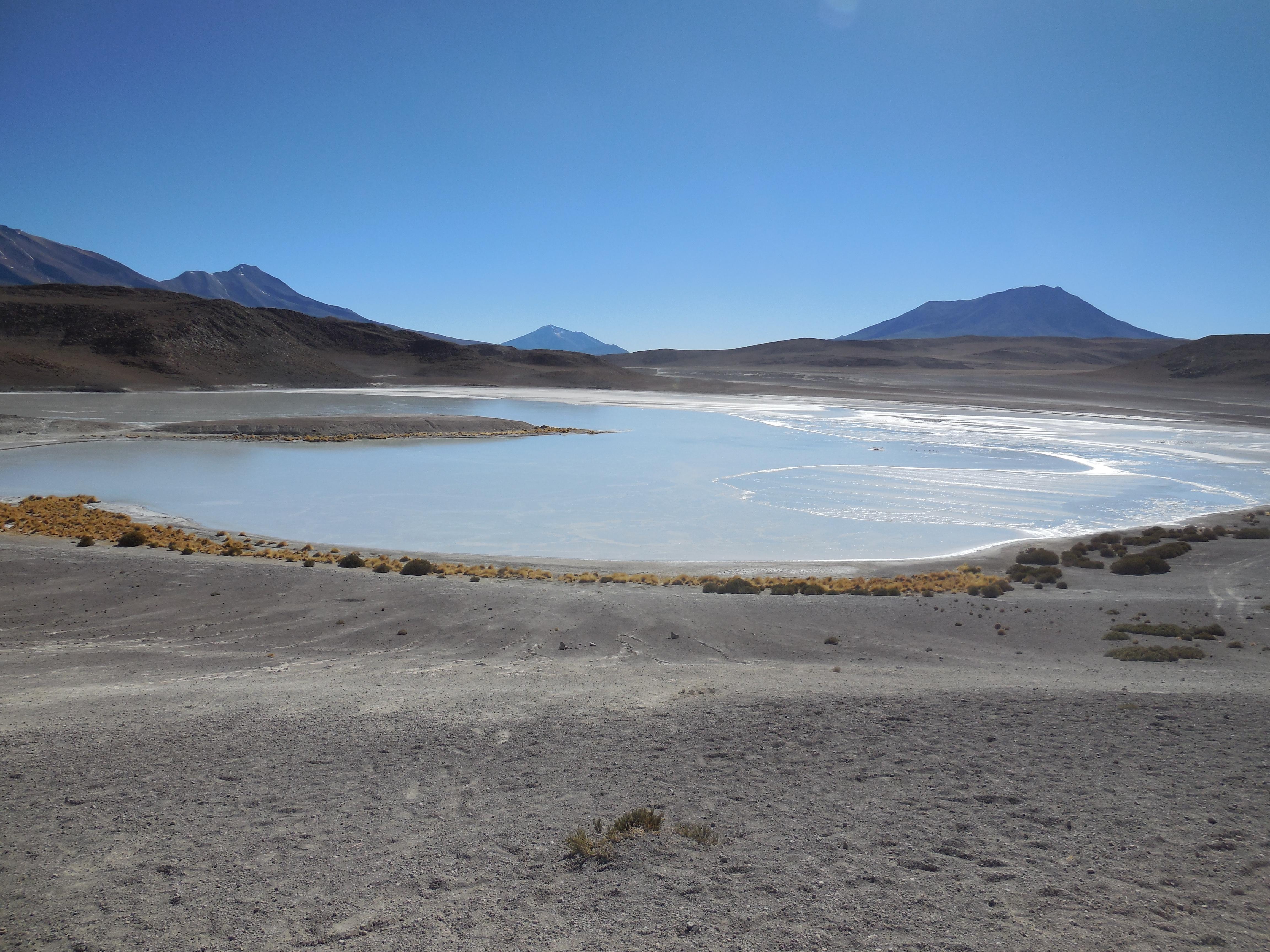 Anden Bolivien Salzwüste Lagune