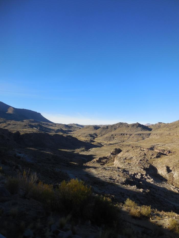 Bolivien Berge Potosí