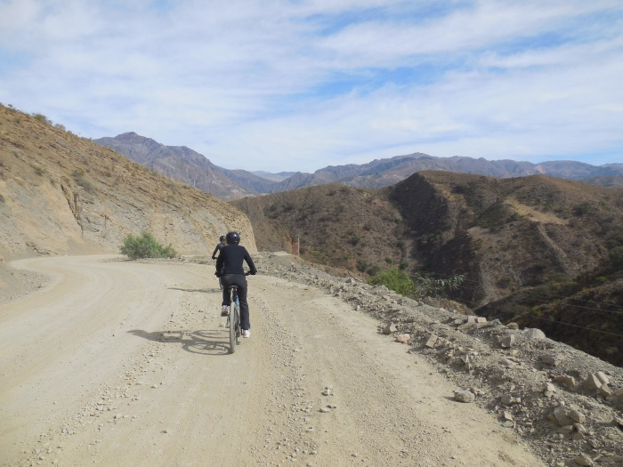 Mountainbiken um Sucre