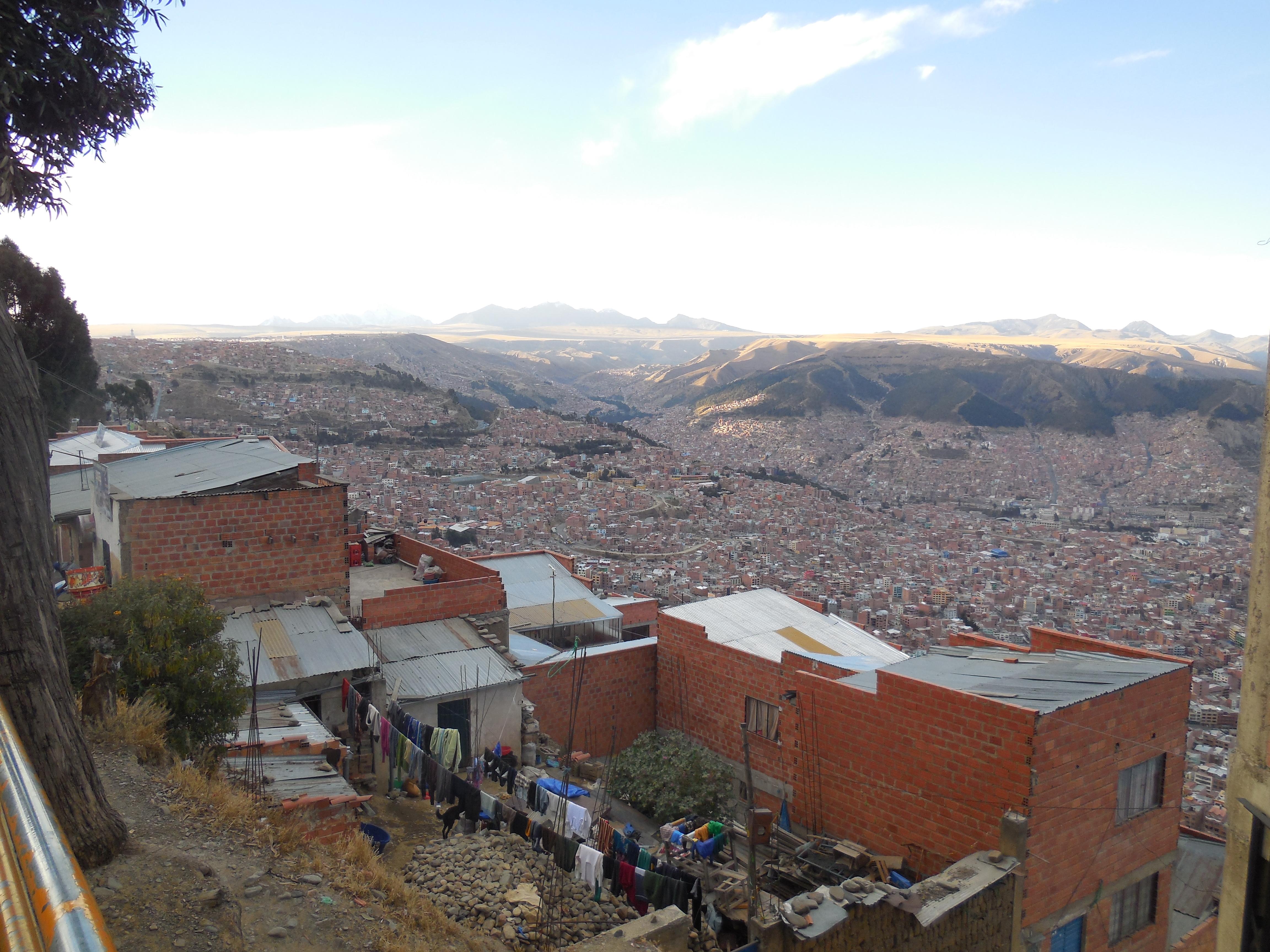 La Paz von El Alto