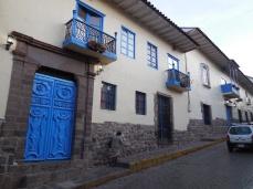 Cusco blaue Tür