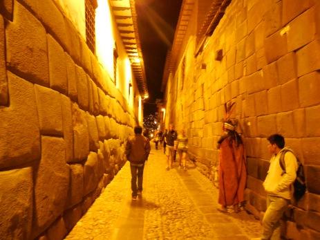 Cusco nachts