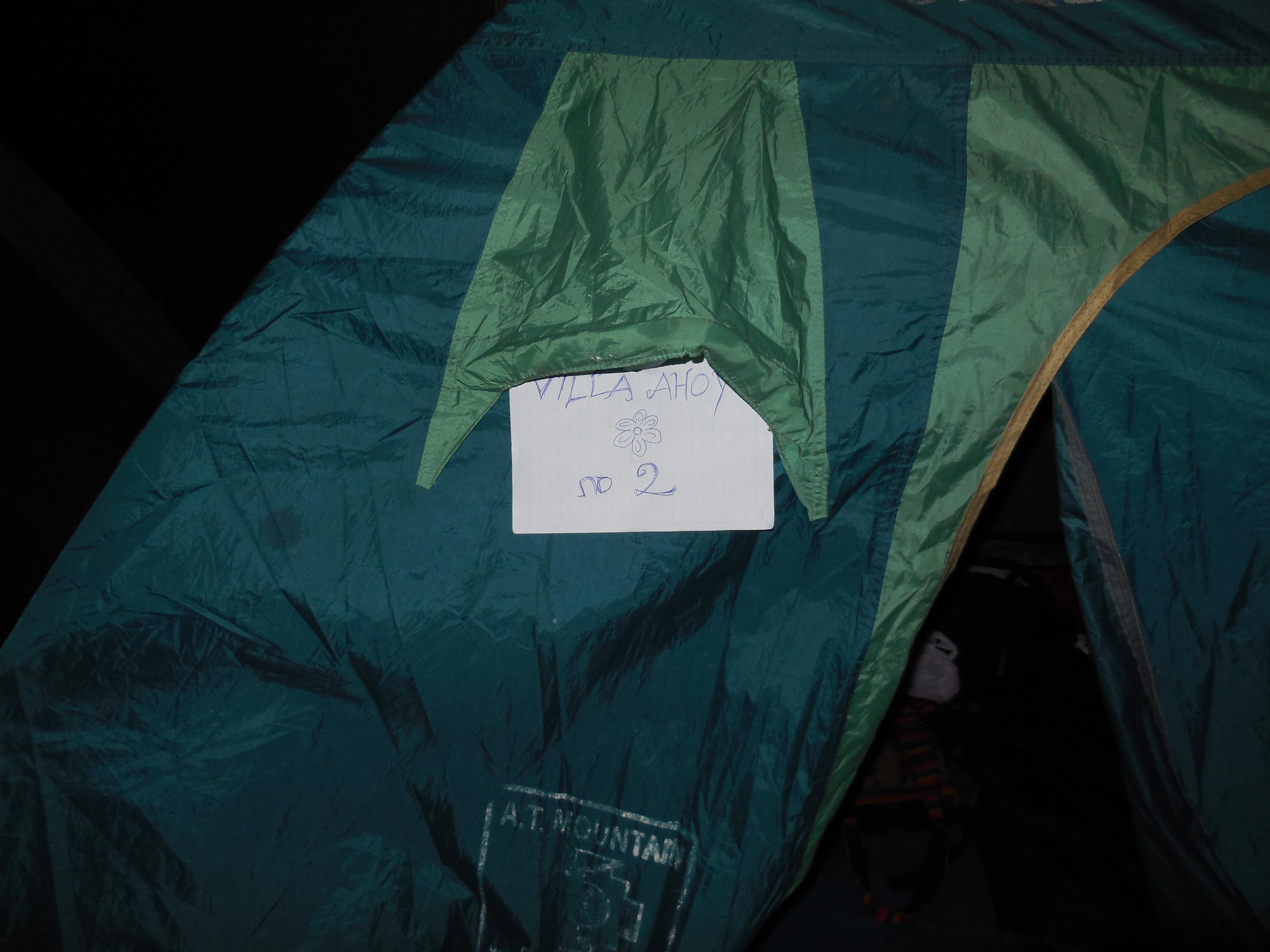 Zelten auf dem Salkantay Trek