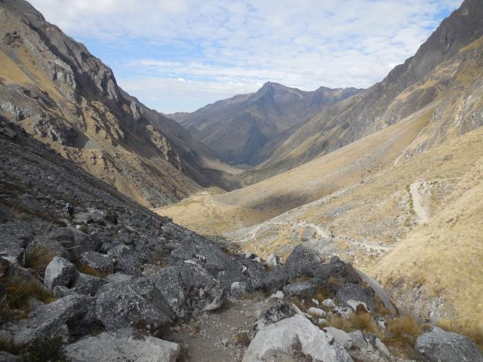 Salkantay Trek bergauf