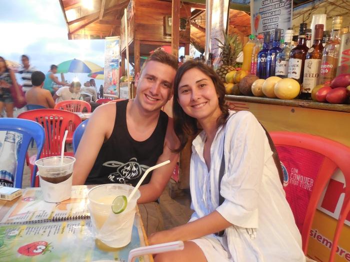 Montanita Andres und Flor