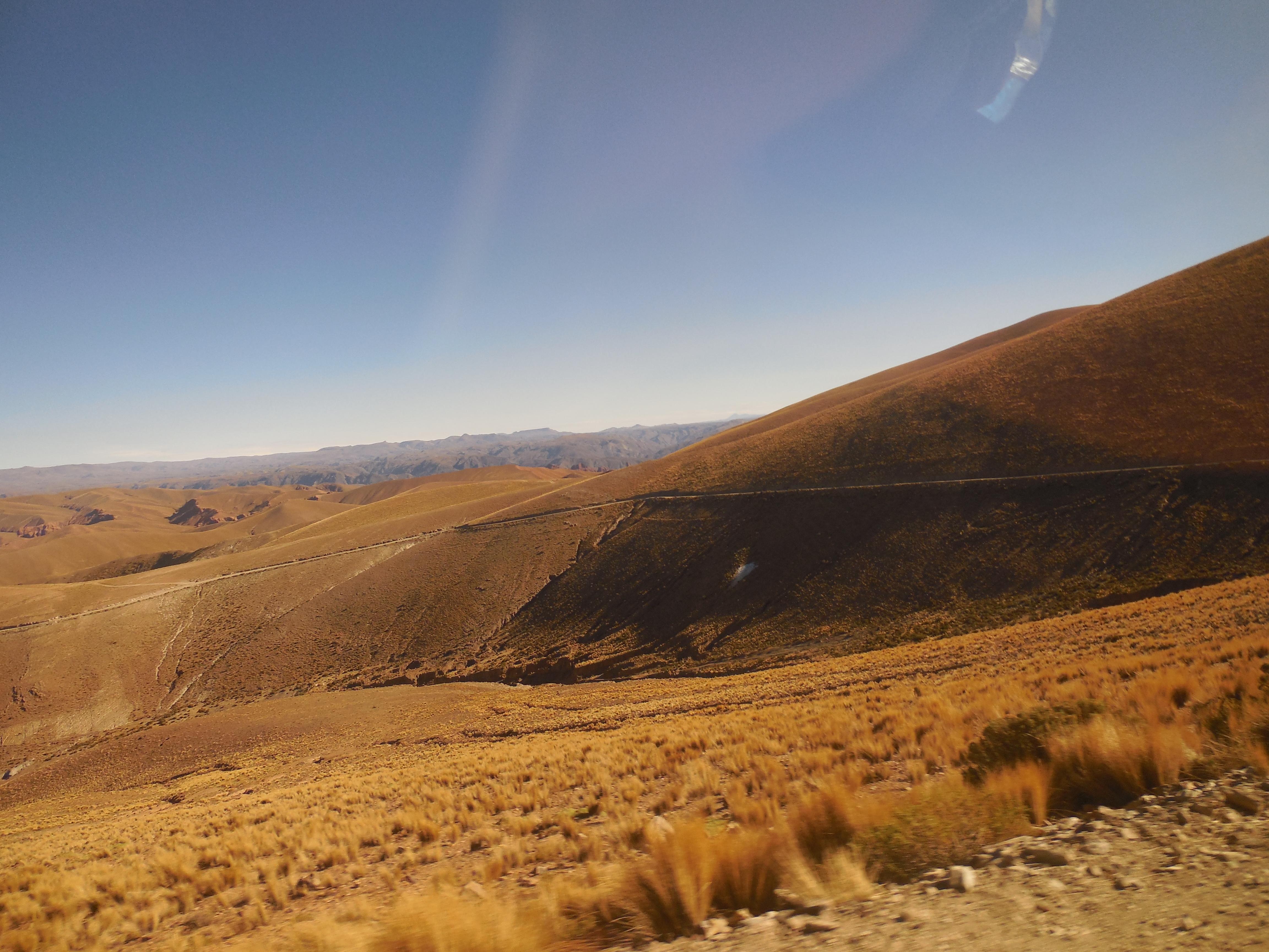 Südbolivianische Anden