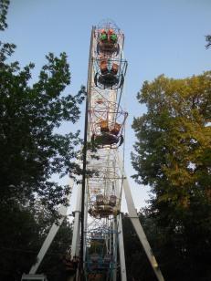 Altes Riesenrad in Guyumri