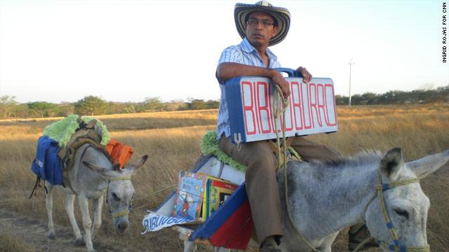 Biblioburro (Copyright: CNN)