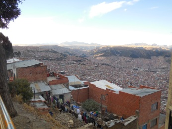 Blick über La Paz