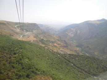 Blick aus der Gondel von Wings of Tatev