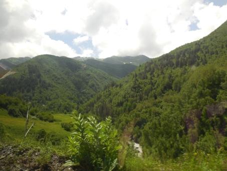 Weg nach Ushguli