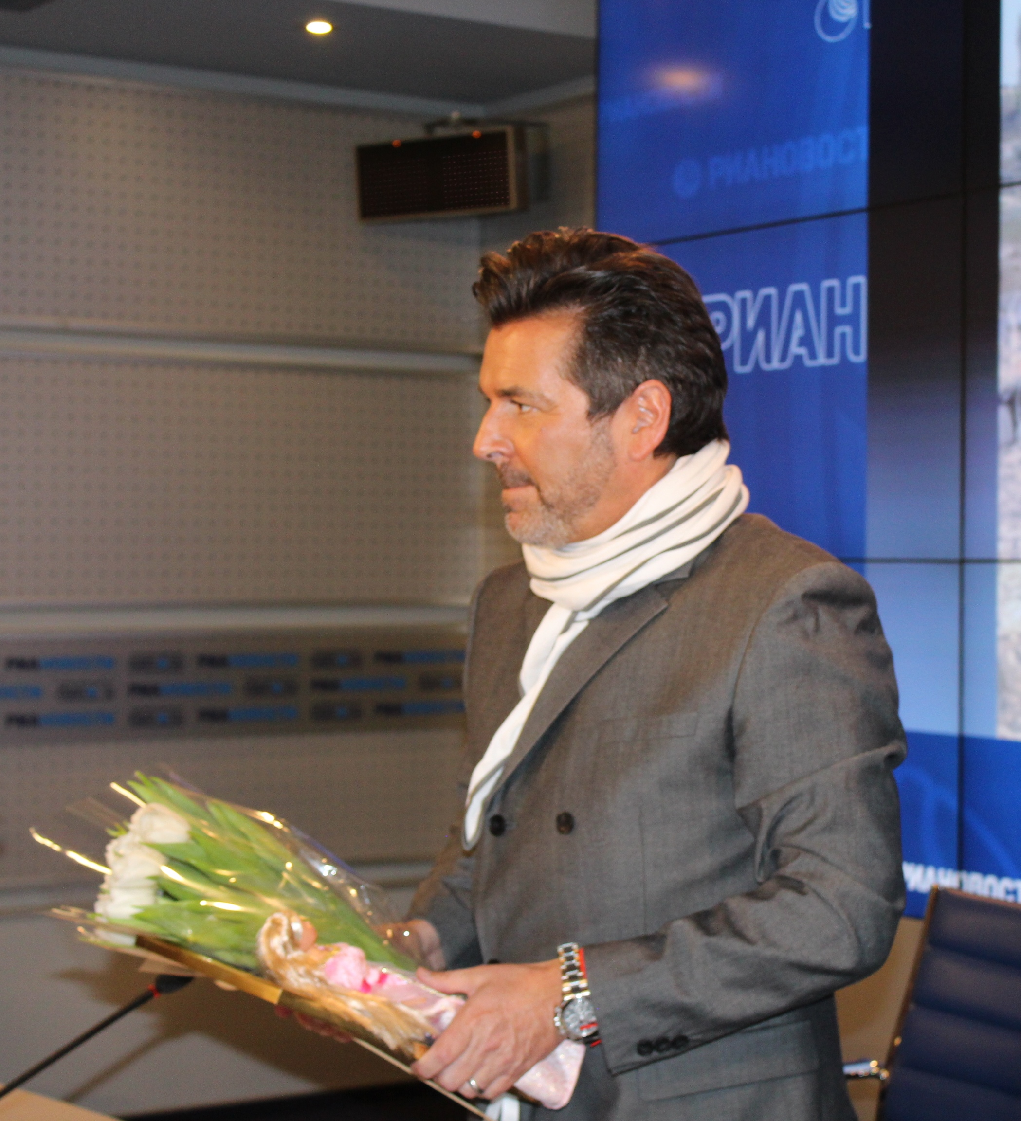 Thomas Anders Blumen & Barbie