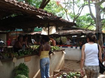 Auf dem Bauernmarkt in Camagüey