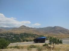 Auf dem Weg nach Goris