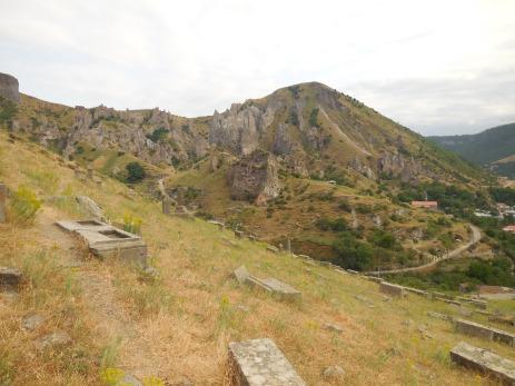 Grabsteine in Goris