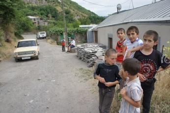 Die Fußballstars aus Goris