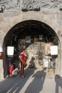Kleine Kapelle am Stadtrand von Goris
