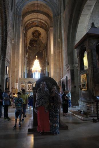 In der Sweti-Zchoweli Kirche