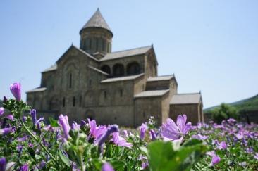 Sweti- Zchoweli- Kathedrale, bis heute Sitz des georgischen Patriarchen