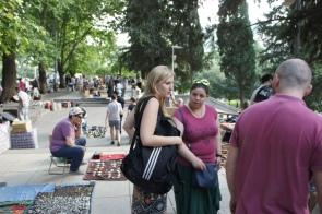 Flohmarkt in Tiflis