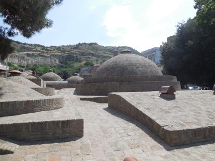 Alte Bäder in Tifilis
