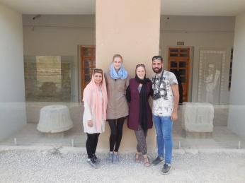 In Persepolis - super heißes Wetter