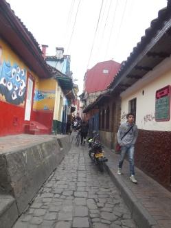 In den Straßen von Bogotá