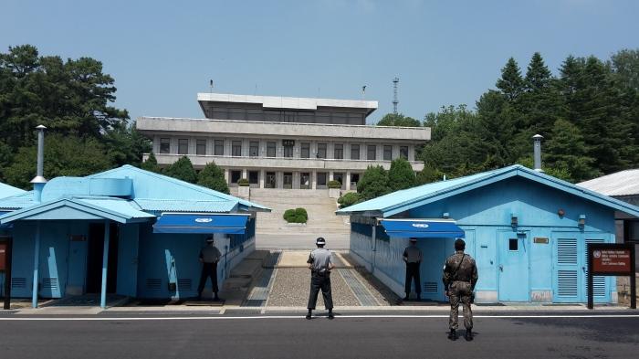 Grenze Nord- und Südkorea JSA