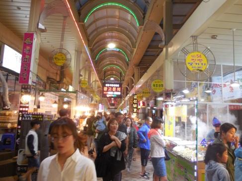 Sokcho Markt