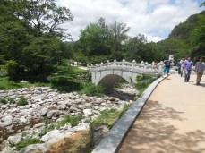 Eingang Seoraksan Nationalpark