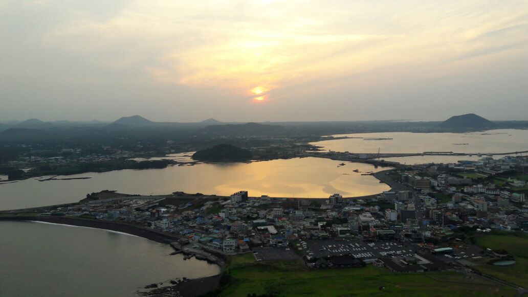 Sonnenuntergang auf Jeju-do